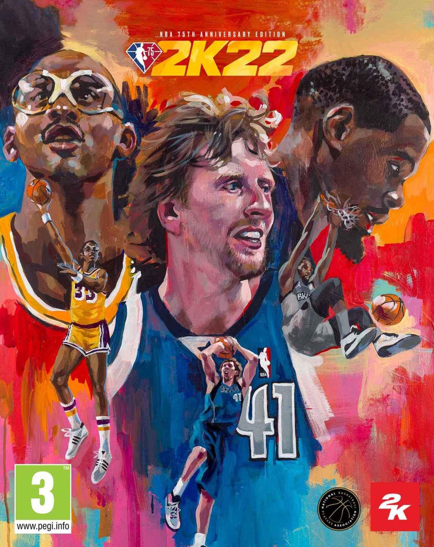 NBA 2K22 covers