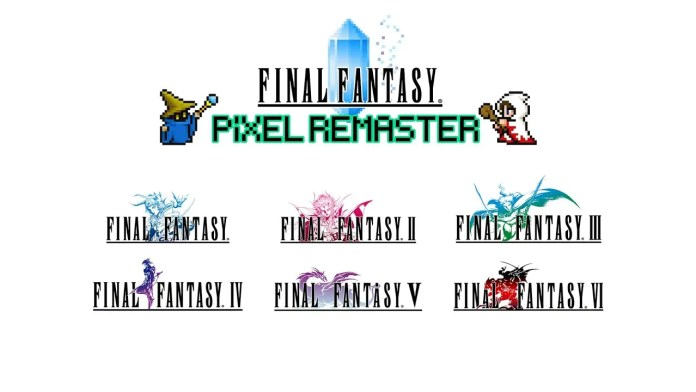 Final Fantasy Pixel Remaster could reach more platforms if there is enough demand 2