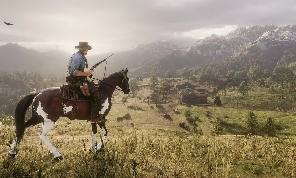 Red Dead Redemption 2 time-lapse
