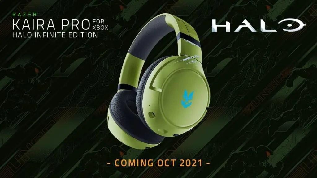 Alucina con estos auriculares de Halo Infinite de Razer para Xbox