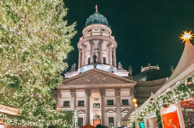 Views at the Berlin Weihnachtzauber Christmas Market