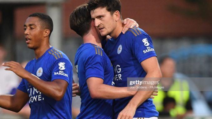 Rodgers alters Man united transfer plans confirms Harry Maguire is comfortable with Leicester