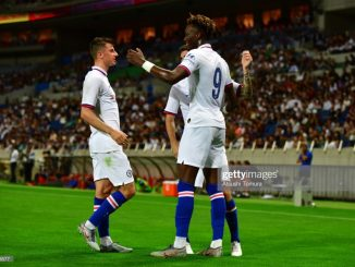 tammy abraham delivers as chelsea takes the lead against barcelona