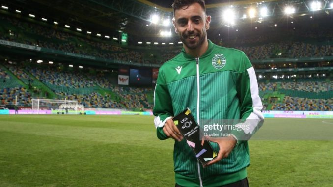 Bruno Fernandes edges closer to possible Real Madrid move.