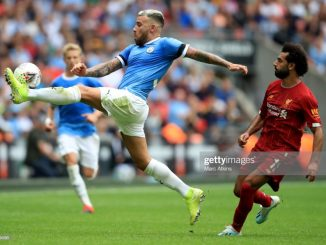 Carling cup Manchester City thrash Liverpool in penalties after 1 1 draw