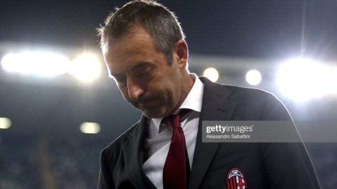 AC Milan fires Marco Giampaolo hires former Fiorentina manager Piolo