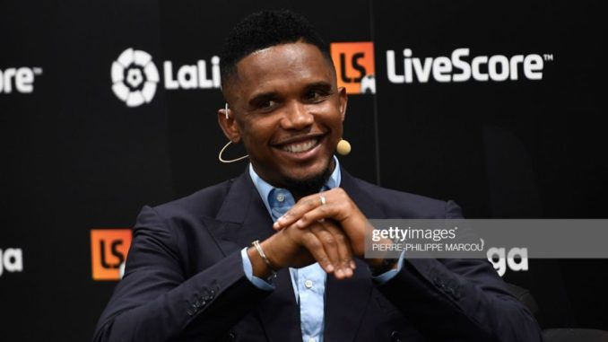 I will to coach Cameroon to World Cup Victory Samuel Etoo