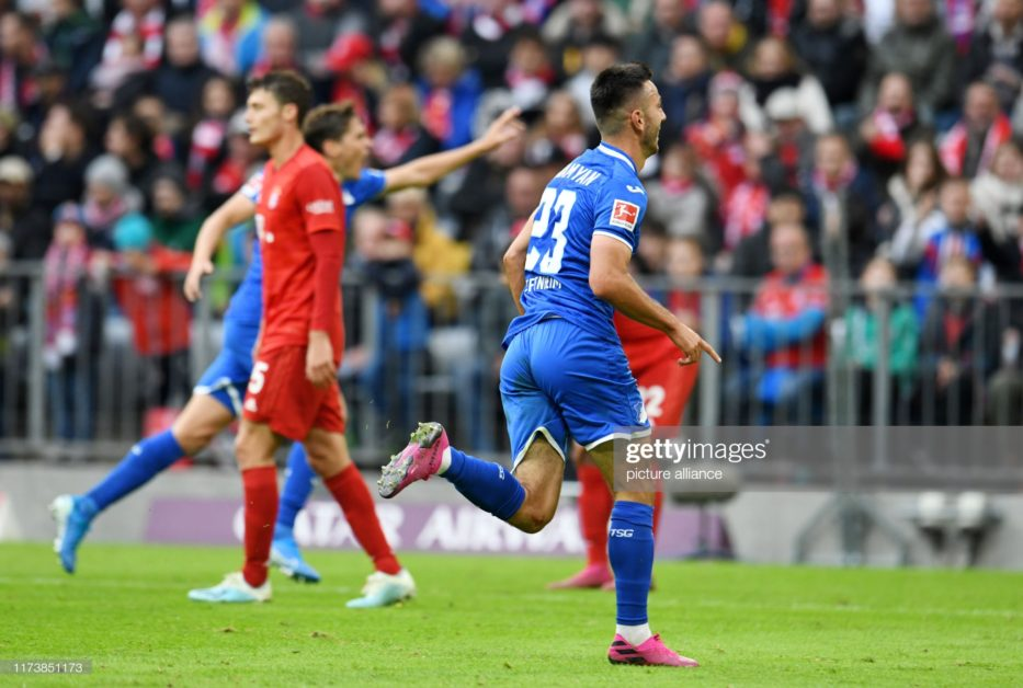 Sargis Adamyan perfect derby hands Bayern Munich first loss of the season