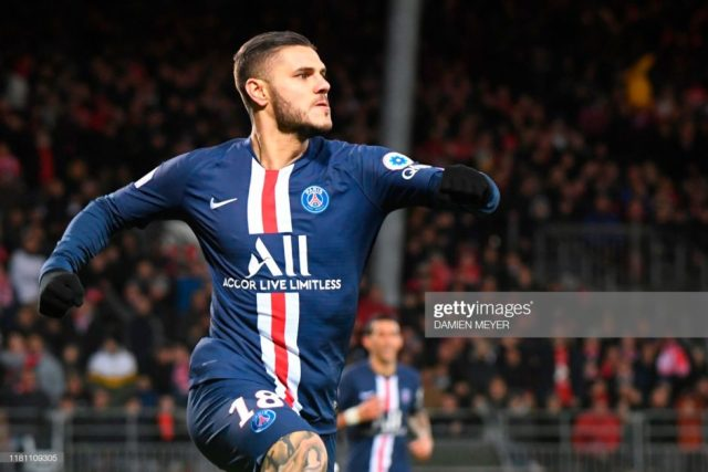 Cavani needs to get used to the competition Icardi brings - Tuchel