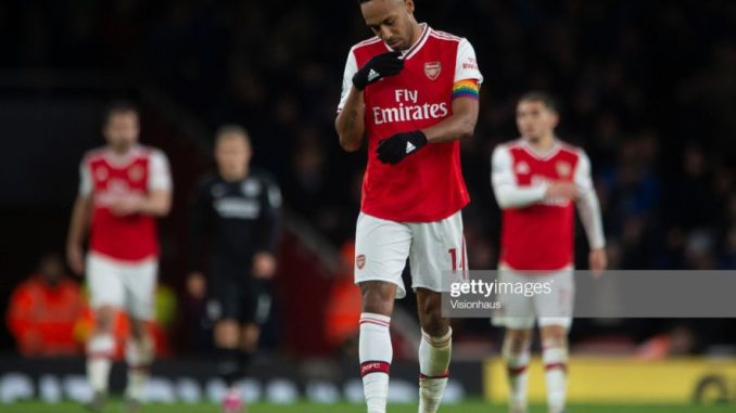 Aubameyang Hints on Arsenal exit as He pulls out of Contract talks