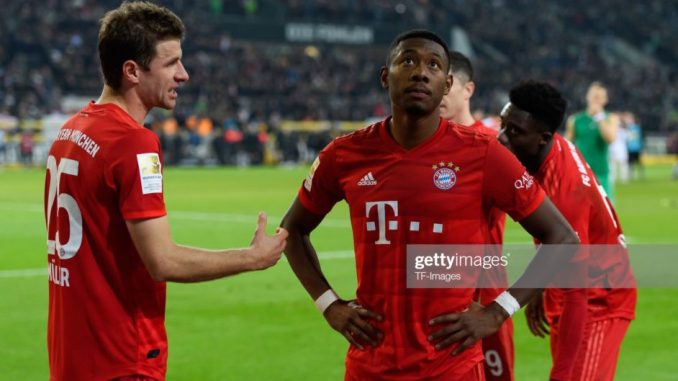 Barcelona reportedly plotting to scoop David Alaba