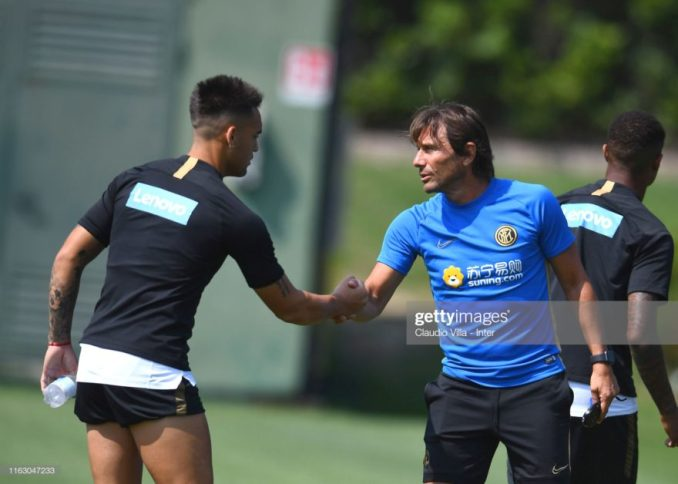 Conte is making me do a great job - Lautaro Martinez 1