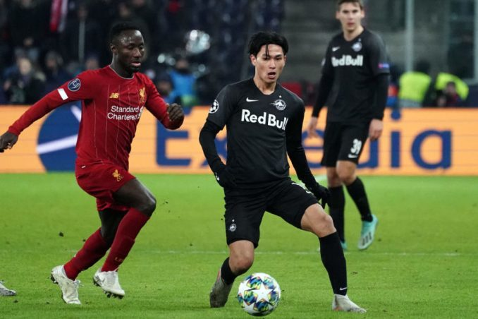 Liverpool agreed terms with Minamino 3