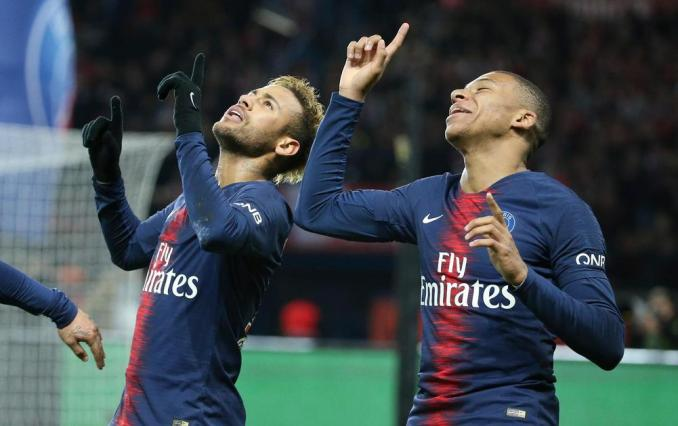 Neymar Clear doubts on competition between him and Mbappe2