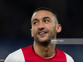 Blue Hakim Ziyech pens downs 5 year Chelsea contract 2