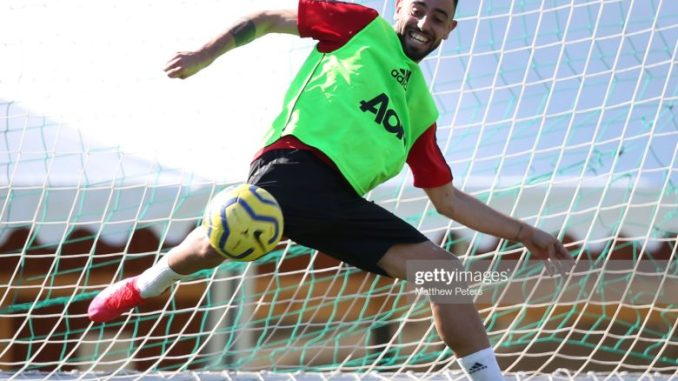 Bruno Fernandes has adapted as if he has been here for 2 years Diego Dalot
