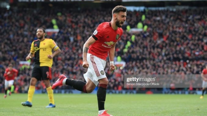Bruno Fernandes opens his Man United scoring chapter as Watford mourns