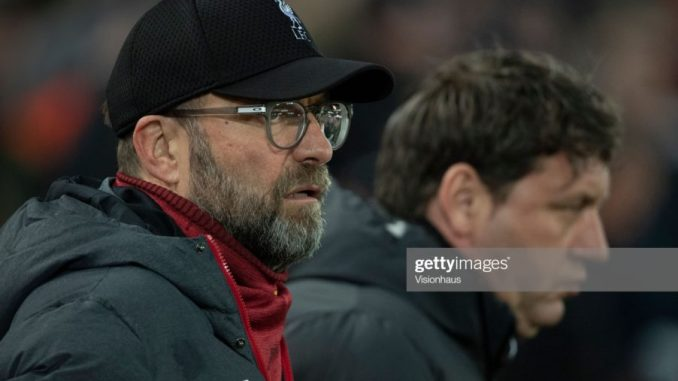 How the Corona Virus might stop Liverpool from lifting the EPL trophy 2