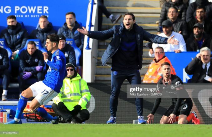 I don't think inexperience is our problem - Frank Lampard 2
