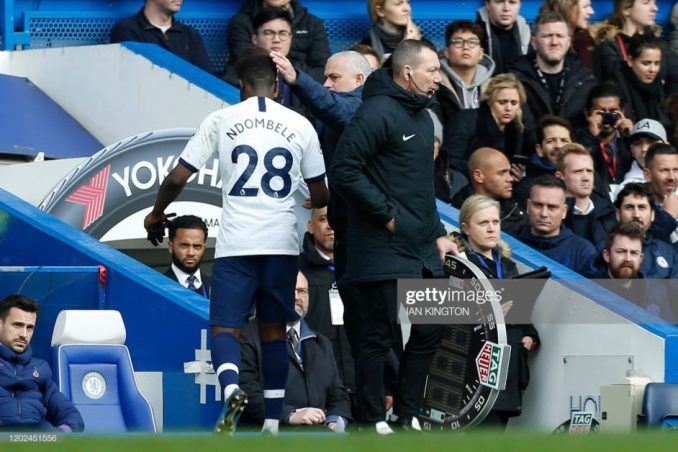 You are not Special Anymore sounds all over Stamford Bridge as Chelsea thrashes Tottenham 2-1 2