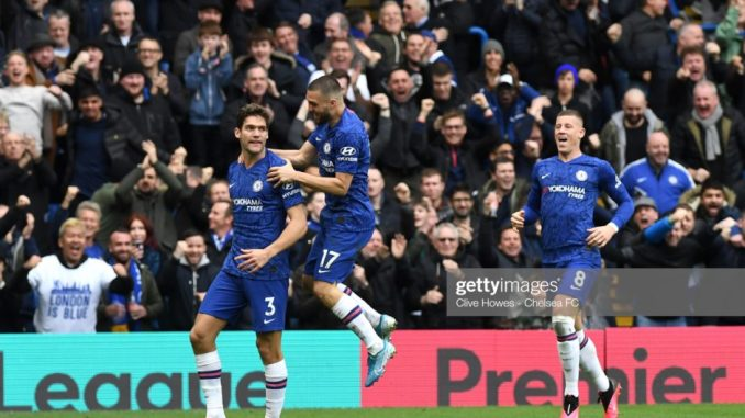 You are not Special Anymore sounds all over Stamford Bridge as Chelsea thrashes Tottenham 2-1 3