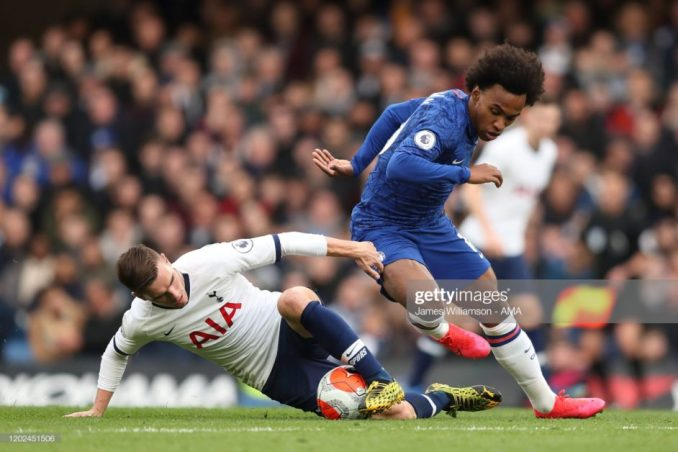 You are not Special Anymore sounds all over Stamford Bridge as Chelsea thrashes Tottenham 2-1.1jpg