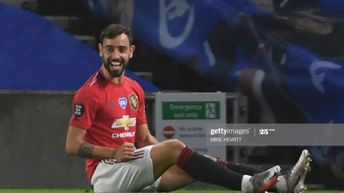 'I know if I'm not okay, another player will play' - Bruno Fernandes