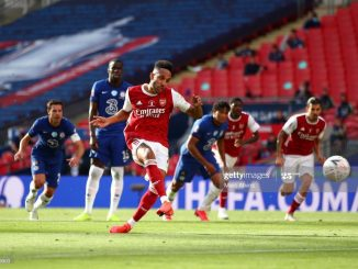 Aubameyang nets equalizer as Arsenal penalty dashes Chelsea early lead