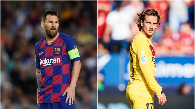 Messi blows hot again and this time Griezmanns head might be on the line