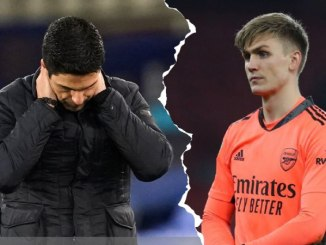 Arsenal goalkeeper takes shocking action out of depression amid Quater Final howler