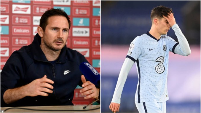 Frank Lampard Makes Honest Comment On Kai Havertz And Formation Switch