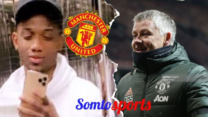 Ole Solskjaer provides Amad Diallo update after Aston Villa clash Somtosports