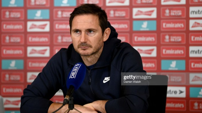 Video Frank Lampard Lambasts Popular Journalist Over Confirmation Slant 1