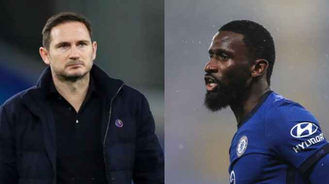 Antonio Rudiger Finally Breaks Silence on Role He Played In Frank Lampard Sack somtosports