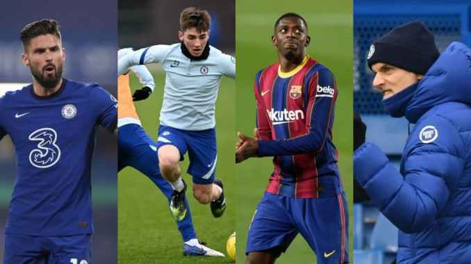 Chelsea Make Final Decision On Gilmour As Talented Barca Winger Set To Reunite With Tuchel somtosports