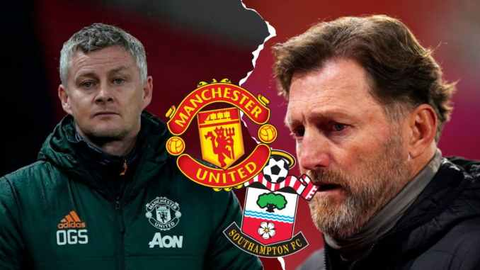 Man United vs Southampton Early Team News Injury Update and Possible Line Up
