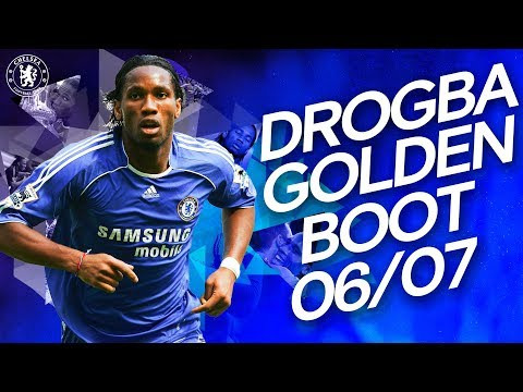 Video: Throwback of all goals from Didier Drogba Golden Boot season
