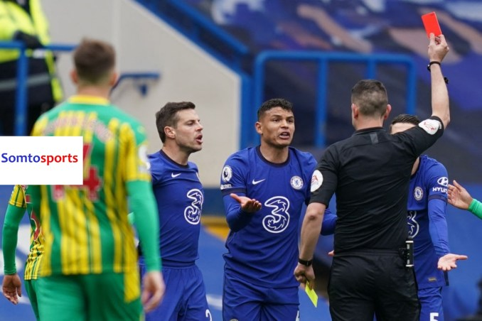 Thiago Silva Comes Through With Two Disastrous Records As West Brom Stun Chelsea 2