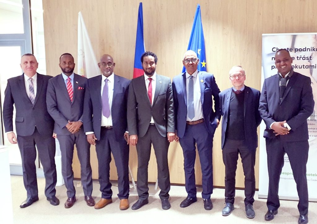 Somaliland and the Czech Republic talk of a boost to bilateral trade relations