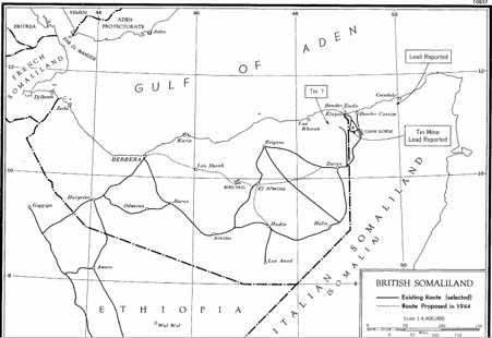 Map drawn in line with the Anglo-Italian Protocol of 1894