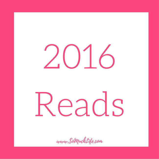 All 100 books I read in 2016!