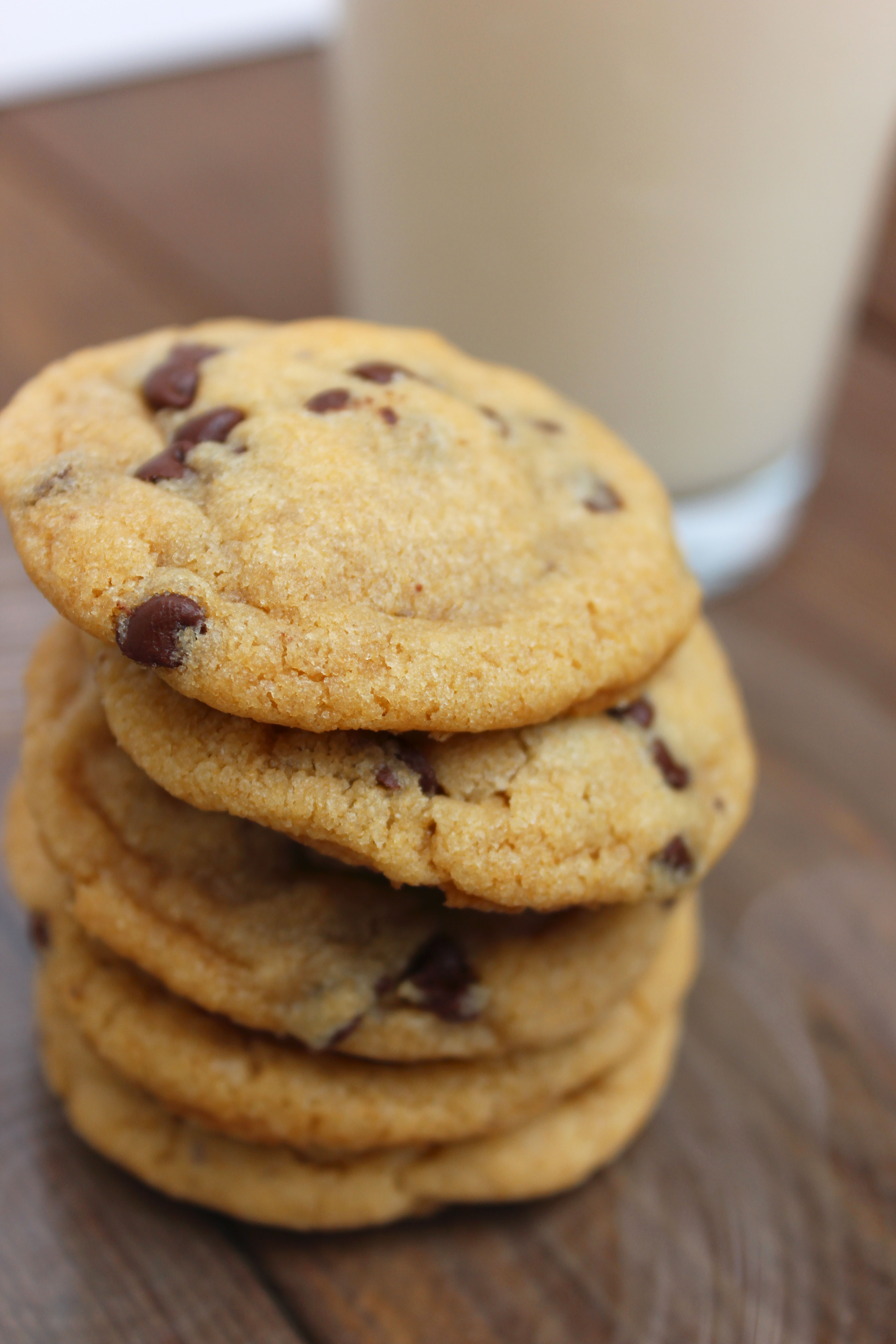 Whole Grain Chocolate Chip Cookies - So Much Yum