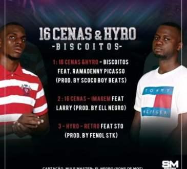 16 Cenas & Hyro - Biscoitos Back Cover