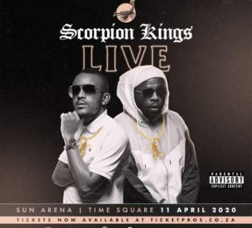 Kabza de Small & DJ Maphorisa - Scorpion Kings Live at Sun Arena 11 April 2020 Album