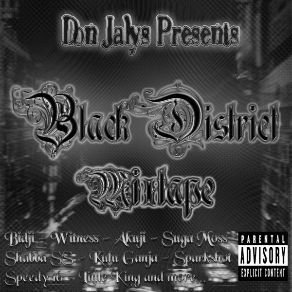 Black District Mixtape (Cover)