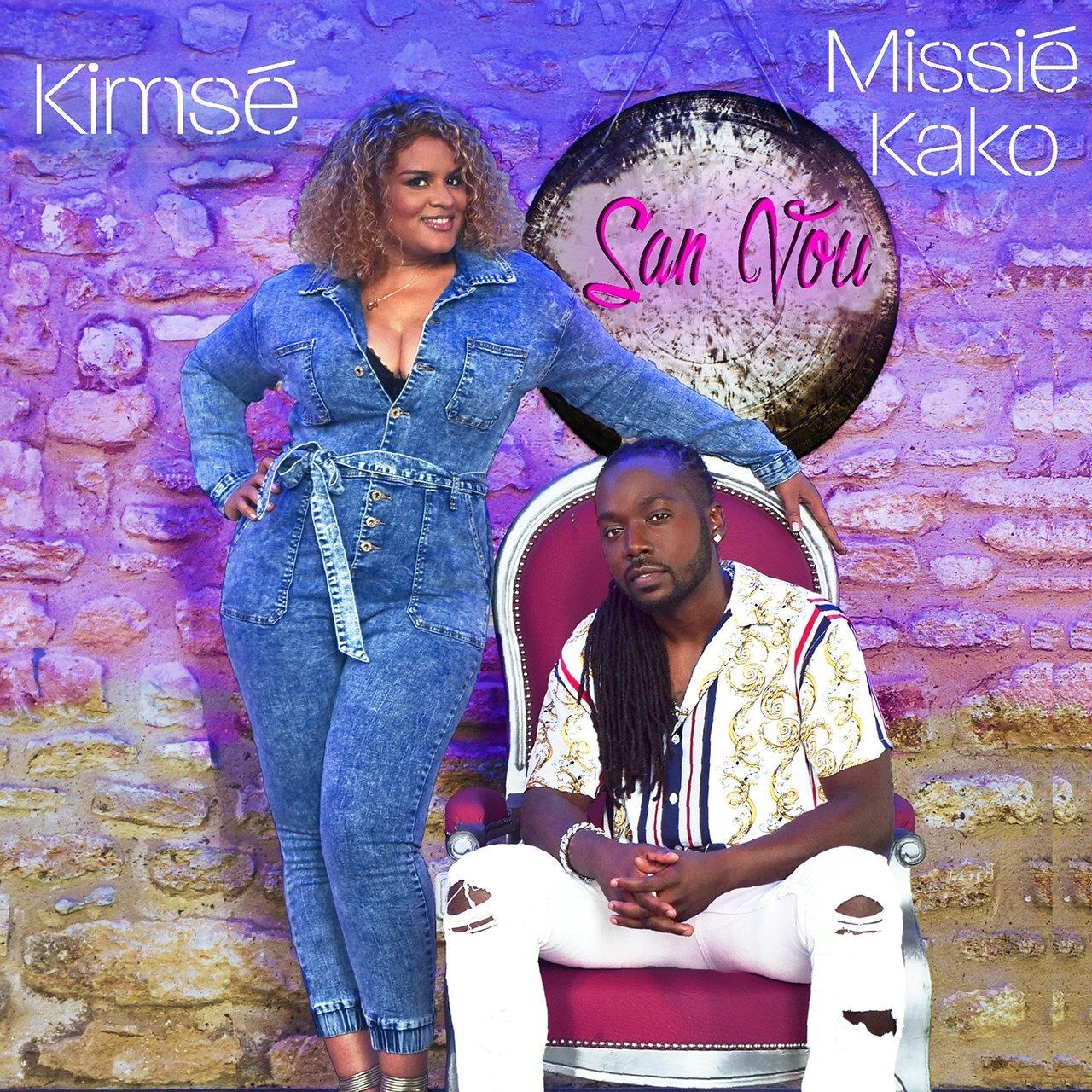Kimsé - San Vou (ft. Missié Kako) (Cover)