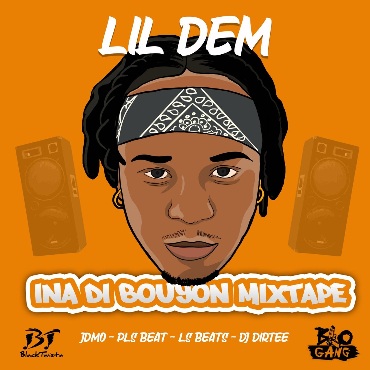 Lil Dem - Ina Di Bouyon Mixtape (Cover)
