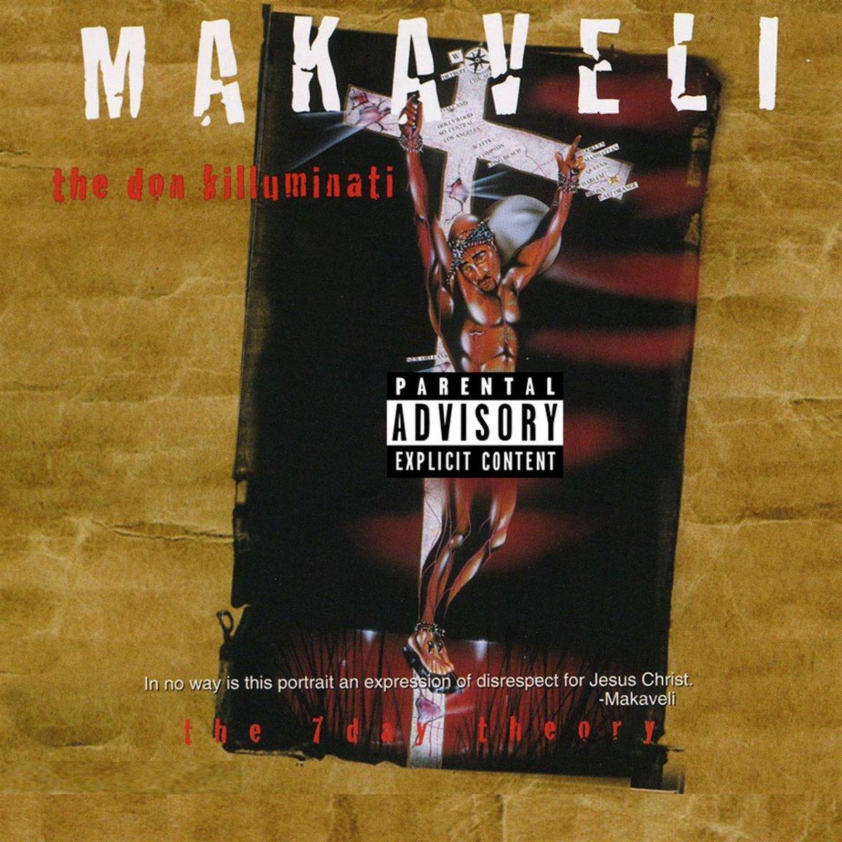 Makaveli - The Don Killuminati: The 7 Day Theory (Cover)