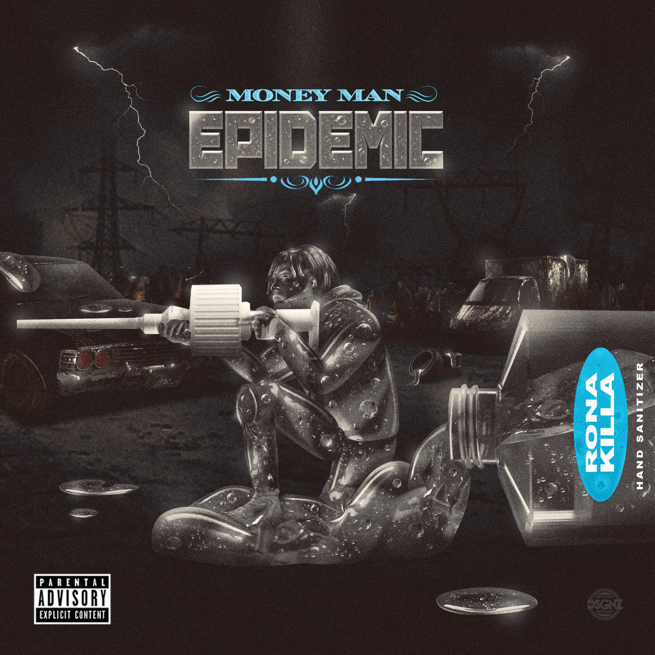 Money Man - Epidemic (Deluxe) (Cover)