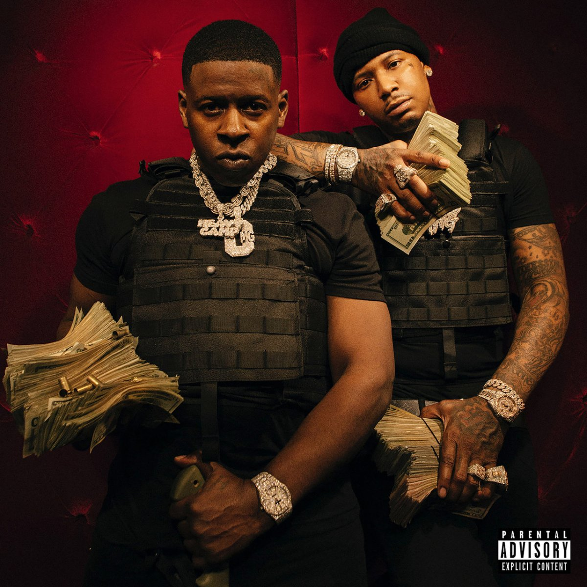 Moneybagg Yo and Blac Youngsta - Code Red (Cover)